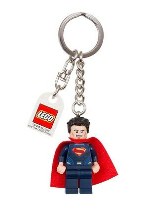 Lego 853590 Lego Dc Super Heroes Superman Minifigure Keychain New With Tag