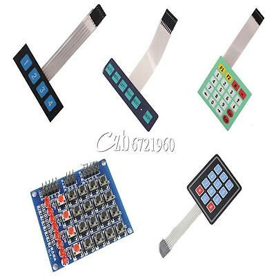 4x4/4x3/4x5/1x6/1x4 Keys Matrix Keyboard Array Membrane Switch Keypad Keyboard
