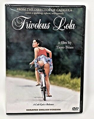 FRIVOLOUS LOLA ~ Tinto Brass Unrated Producer's Cut NEW Sealed DVD