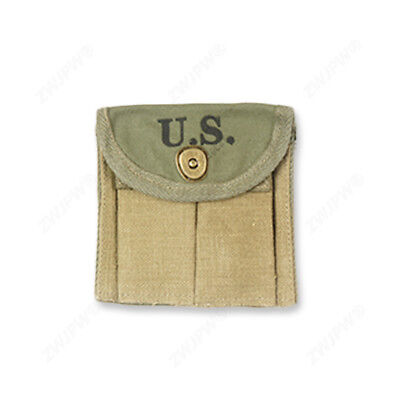 WWII WW2 US Army Military M1 Carbine Ammunition Pouch Ammo Pouch Canvas US/10410