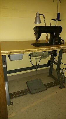 used industrial singer sewing machine