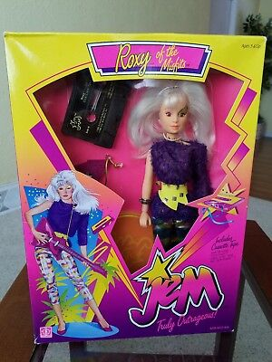 Jem and the Holograms 1986 Classic 2nd Year Roxy Misfits Doll MIB by Hasbro