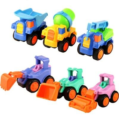 Inertial Engineering Vehicle Toys Mini Cartoon Model Toy Car for Kids Baby Toys