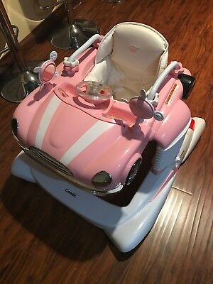Combi All-in-One Baby Activity Walker Pink  USED