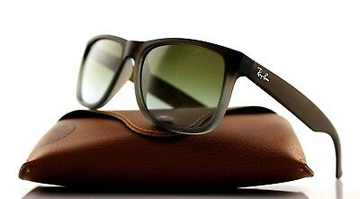 36f947979f NEW Authentic RAY-BAN JUSTIN CLASSIC Brown Green Sunglasses RB 4165 854 7Z