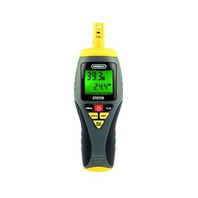 4 Function Digital Thermo Hygrometer Psychrometer Specialty Meter Data Hold