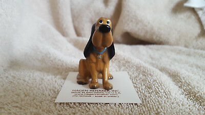 Hagen Renaker Dog Bloodhound Figurine Miniature Collect New Free Shipping 05013