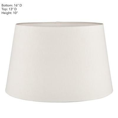 Emac Lawton Lamp Shade in Natural or Ivory 40cm