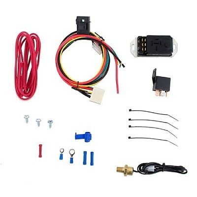 "Mishimoto Adjustable 12V Car Engine Cooling Fan Controller Kit - 1/8"" NPT"