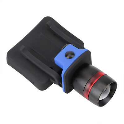5000 LM Zoomable Q5 LED Torch Headlamp Clip-on Head Cap Hat Light AAA Battery