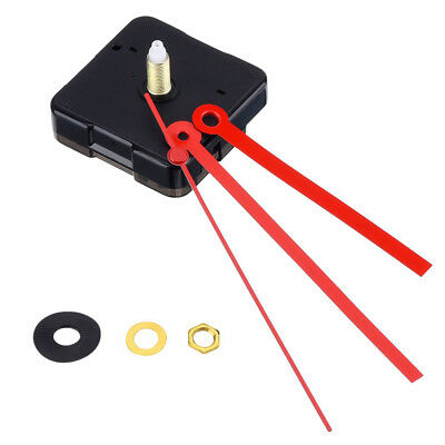 DIY Silent Long Hands Quartz Wall Clock Movement Mechanism Repair Part Kit