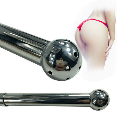 *** High Quality_Enema Stainless Steel_Metal_Butt_Plug Toy_Anal Beads_Adult ***