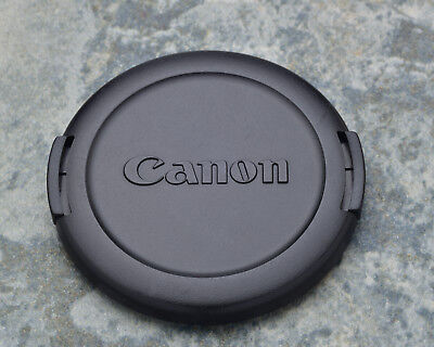 Canon EOS E 58mm Snap-On Front Lens Cap 18-55 55-250 75-300 100 50/1.4 (#1443)