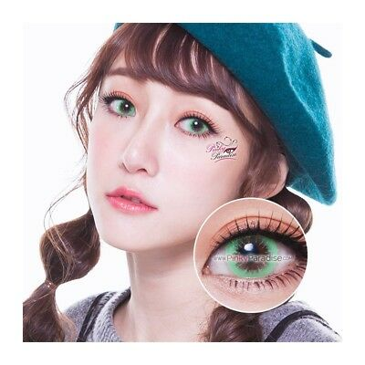 Lentilles de contact couleur 1 ton vert WM101 - green color contact lens