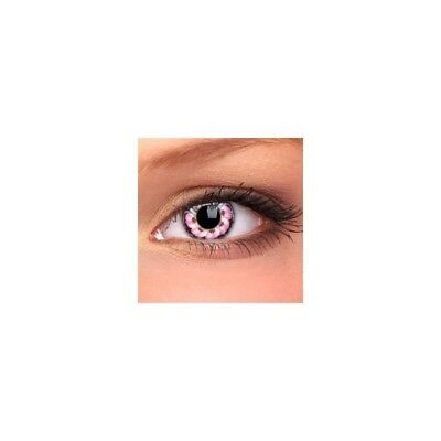 Lentilles de contact couleur fleur violet flower contact color lens