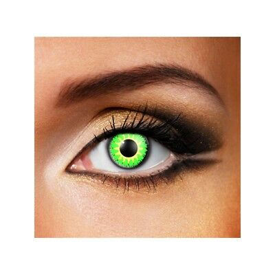 Lentilles de contact couleur Glamour vert - glamour green color lens