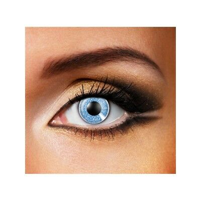 Lentilles de contact couleur 1 ton saphire-one tone sapere color lens