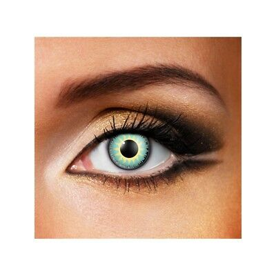 Lentilles de contact couleur Glamour eau - aqua  color contact lens