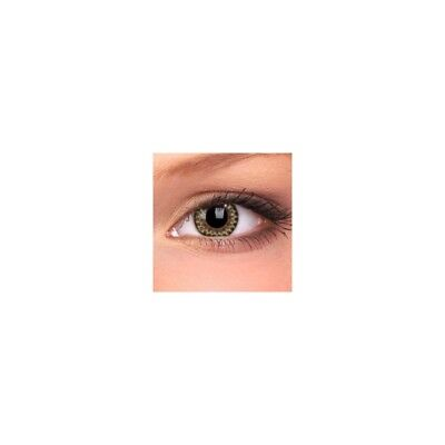 Lentilles de contact couleur Anneaux miel G213 - brown circle color lenses