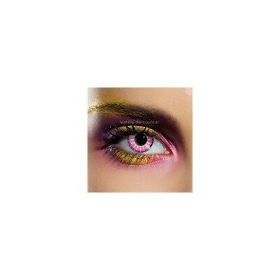 Lentilles de contact couleur Glamour violet color contact lens