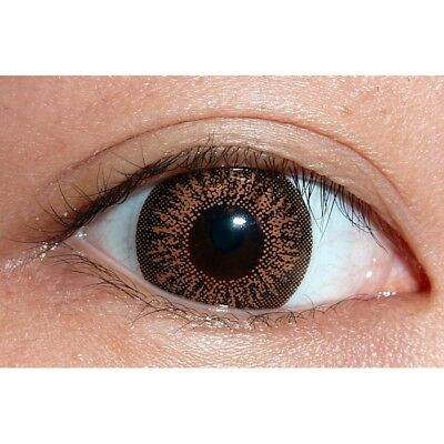 Lentilles de contact couleur Big Eyes miel G205 - brown big eyes color lens