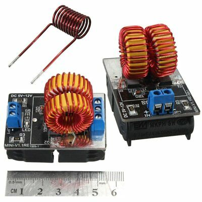 Pro 5V-12V Low Voltage ZVS Induction Heating Power Supply Module +Heater Coil AN