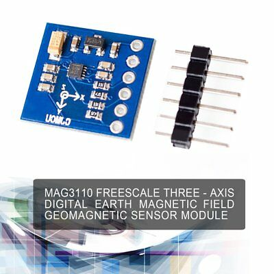 MAG3110 3-Axis Digital Earth Magnetic Field Compass Geomagnetic Sensor Module AN