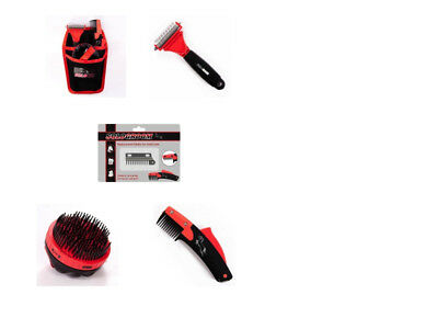 Solo Comb Rake Brush Kit Thinning Shortening Pony Horse - FREE DELIVERY