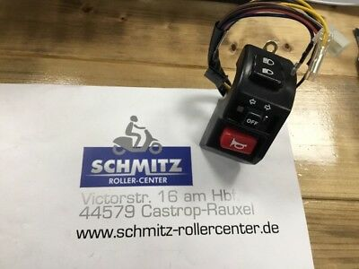 YAMAHA XC 125 Cygnus Lenkerschalter Li / Handle Switch 4KC-H3973-01 Neu / New!