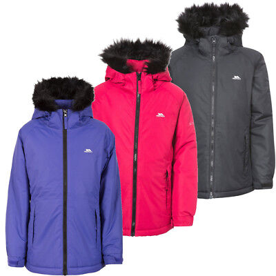 Trespass Staffie Girls Waterproof Jacket
