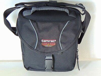 Tamrac photo / video case with strap, handle and adjustable dividers