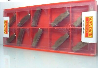 N123J2-0500-0004-TF 1125 SANDVIK INDEXABLE INSERTS CARBIDE INSERTS 10 pcs