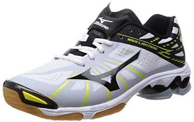 Mizuno Volleyball Shoes Wave Lightning Z V1GA1500 White ?? Black / Volt 27US8.0