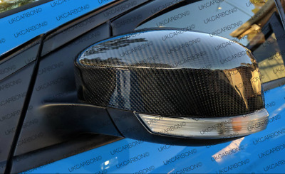 New Ford Focus RS MK3 Genuine Carbon Fibre Mirror Covers Full Replacement 2014 +