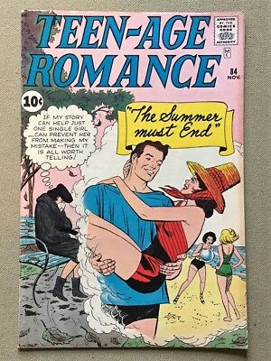 Teen-Age Romance #84 Marvel - FN/VF Fine/Very Fine Condition.