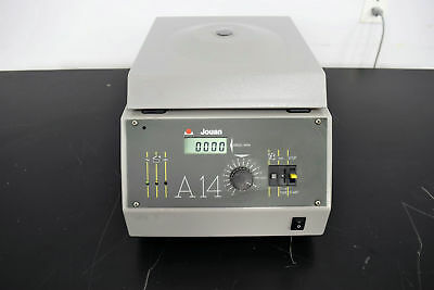 Jouan A14 Centrifuge w/ 14000 RPM Rotor 20-Slot 1.5-2.0mL Tabletop
