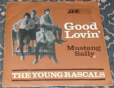"The Young Rascals : Good lovin',Atlantic,7"",im Bildcover"