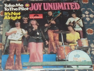 "Joy Unlimited : Take me to the Pilot,Deutschrock,7"",im Bildcover"