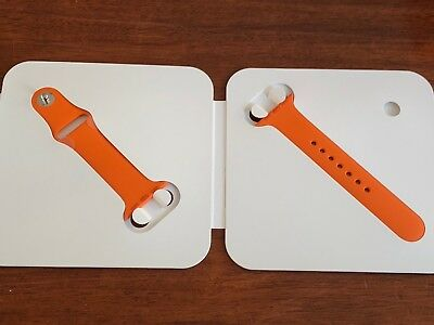 Authentic Apple Watch Hermes Orange Sport Band Strap 38mm Hermès OEM Brand NEW