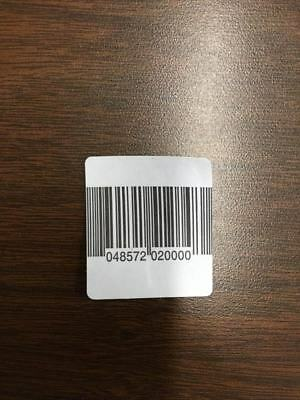 2000 Paper Security Labels Rf 8.2Mhz Barcode Eas Checkpoint Compatible