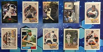 Reggie Jackson Lot of 10 Different Baseball Cards! A's/Angels/Yankees HOF! #1