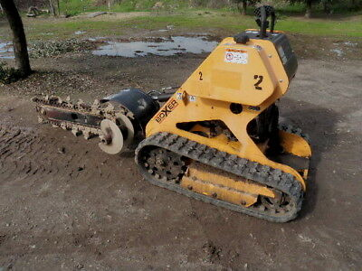 Boxer 118 Track Trencher