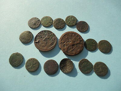 Lot of 16 Medieval coins