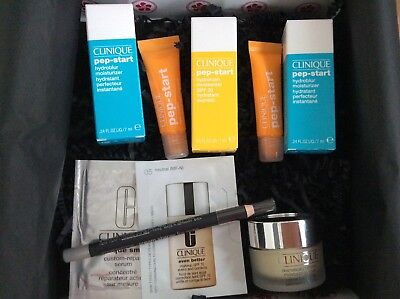 Clinique Beauty Box  - Pep-Start, Eyeliner, uvm  - 10 Teile - NEU