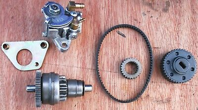 PIAGGIO ZIP 50cc 50 2T A/C ENGINE TWO STROKE OIL PUMP STARTER BENDIX PULLEY COG