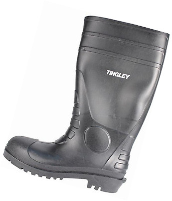 Tingley 31151 Economy SZ14 Kneed Boot for Agriculture, 15-Inch, Black