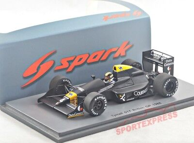 NEW 1/43 SPARK S4863 Tyrrell 017, British GP 1988, Bailey #4