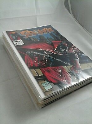 Lot Of 19 Spawn Comics Vintage Numbers Between 5-36 Image Collection - NM / VF