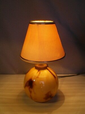 ancienne lampe art deco 1930 pied boule en verre antique lamp vintage design