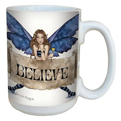 Tree-Free Greetings lm43540 Sweet Believe Fairy Ceramic Mug with Full Sized H...